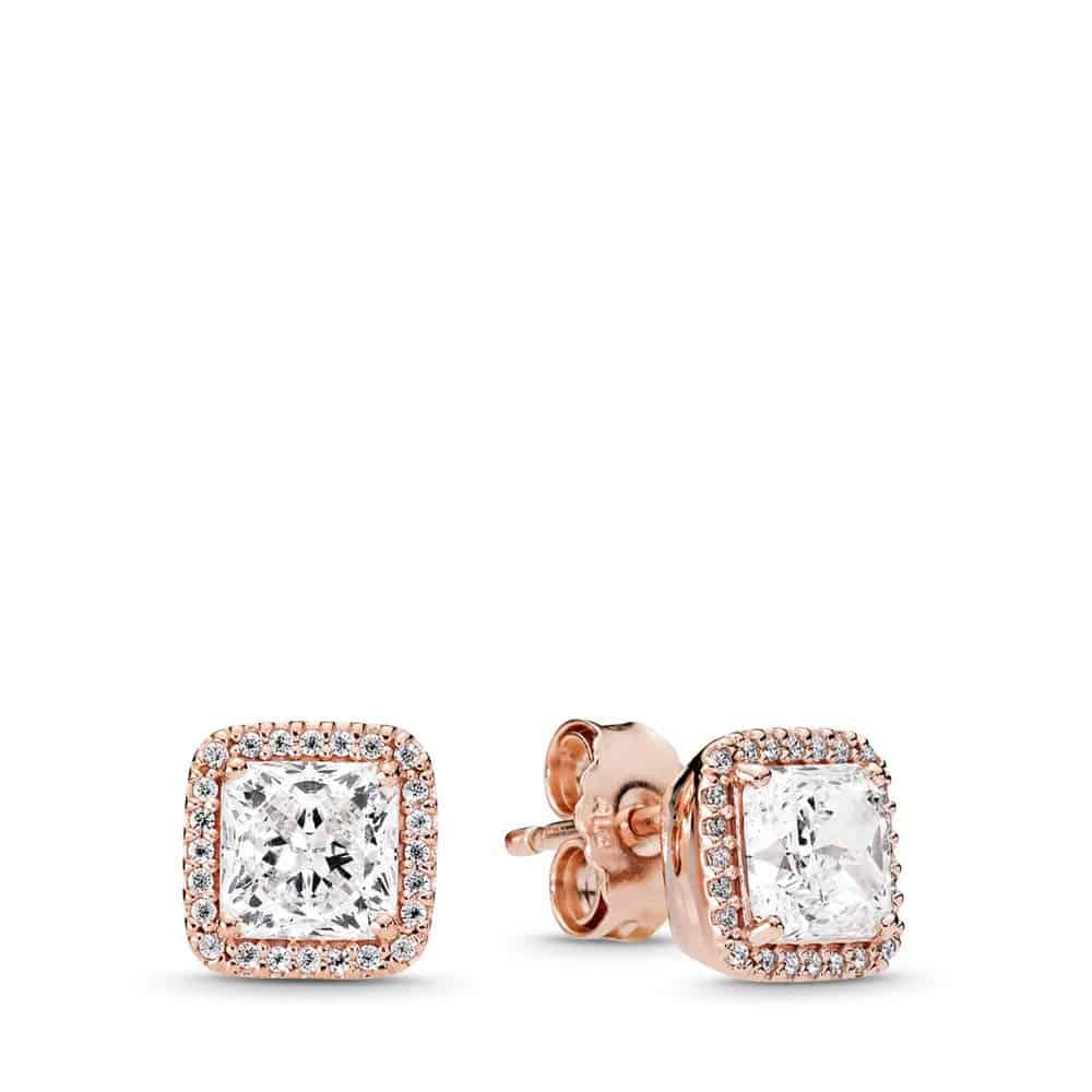 PANDORA Timeless Elegance Earrings Zirconia