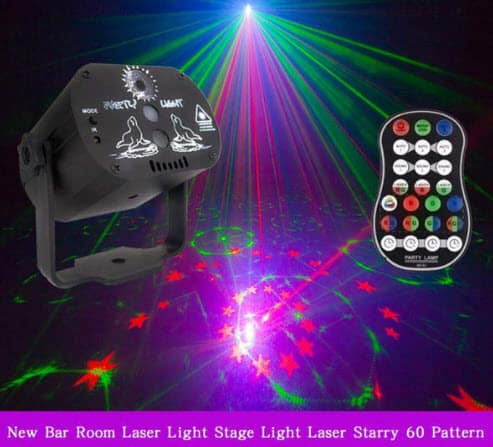 Top 50 Party Accessories: Rechargeable Laser Projector