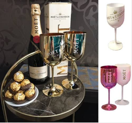 Top 50 Party Accessories: Electroplated Plastic Wine Goblet
