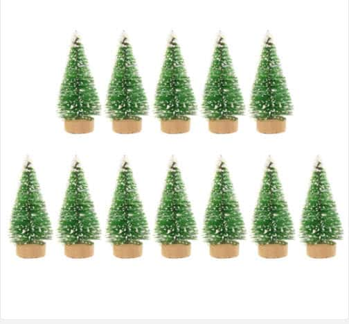 Top 50 Party Accessories: Sisal Silk Mini Christmas Tree