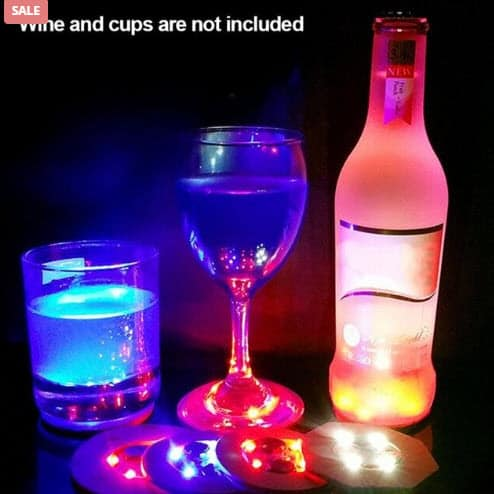 LED Cup Mat For Drinks