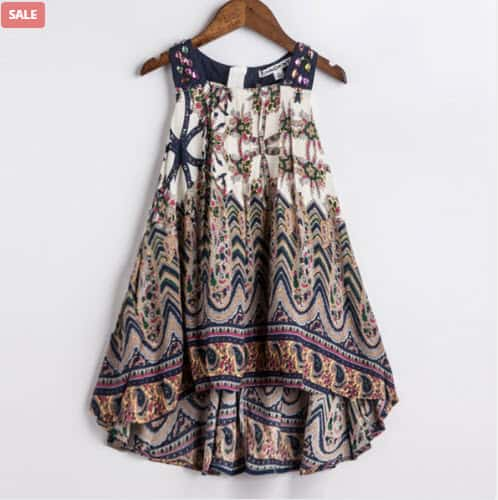 Bohemian Summer Dress For Your Little Girl