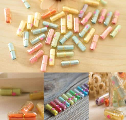 Message Letter Capsules