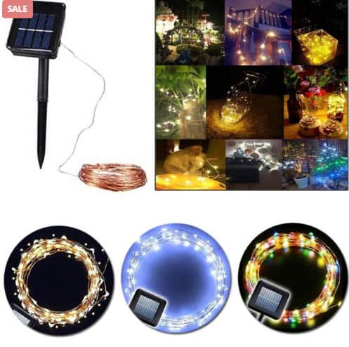 Top 50 Party Accessories: Outdoor Solar Lamps Of 10M