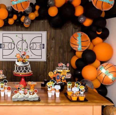 Basketball-Themed Party Supplies