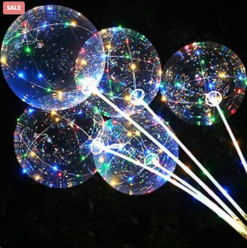 Top 50 Party Accessories: Helium Balloons With Lights
