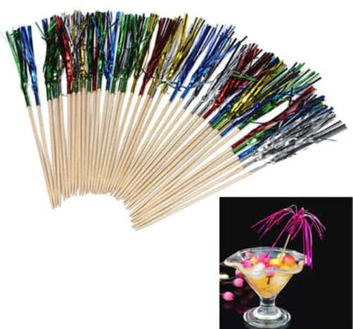 Firework Decoration For Cocktail Drinks